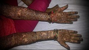 Фото Мехенди на ладони - 17062017 - пример - 090 Mehendi in the palm of your hand