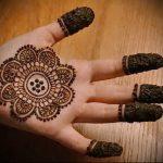 Фото Мехенди на ладони - 17062017 - пример - 092 Mehendi in the palm of your hand