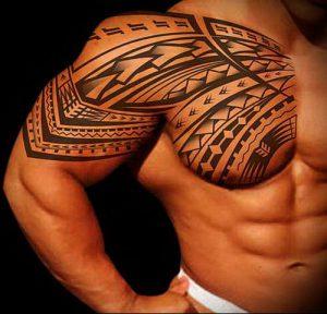 Фото тату Самоа - 16062017 - пример - 002 Tattoo of Samoa