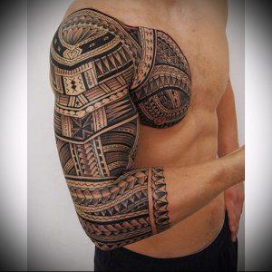 Фото тату Самоа - 16062017 - пример - 006 Tattoo of Samoa