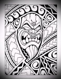 Фото тату Самоа - 16062017 - пример - 024 Tattoo of Samoa