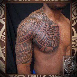 Фото тату Самоа - 16062017 - пример - 032 Tattoo of Samoa