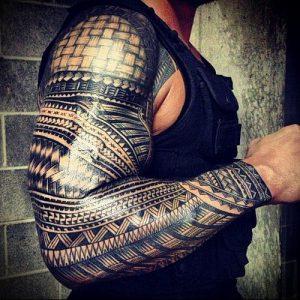 Фото тату Самоа - 16062017 - пример - 037 Tattoo of Samoa