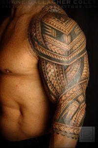 Фото тату Самоа - 16062017 - пример - 053 Tattoo of Samoa
