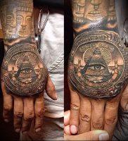 Фото тату деньги пример рисунка на теле — 16062017 — пример — 001 Tattoo money