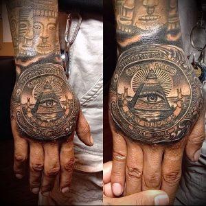 Фото тату деньги пример рисунка на теле - 16062017 - пример - 001 Tattoo money