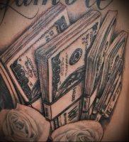 Фото тату деньги пример рисунка на теле — 16062017 — пример — 002 Tattoo money