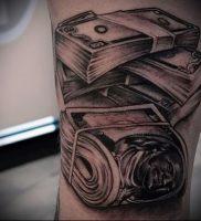 Фото тату деньги пример рисунка на теле — 16062017 — пример — 005 Tattoo money
