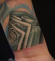 Фото тату деньги пример рисунка на теле — 16062017 — пример — 009 Tattoo money