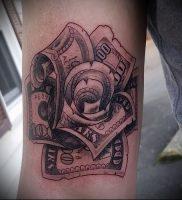 Фото тату деньги пример рисунка на теле — 16062017 — пример — 015 Tattoo money