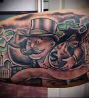 Фото тату деньги пример рисунка на теле — 16062017 — пример — 017 Tattoo money