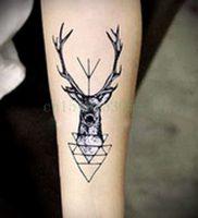 Фото тату лось — 30052017 — пример — 003 tattoo elk