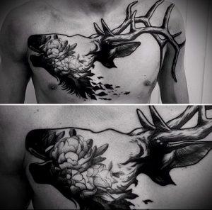 Фото тату лось - 30052017 - пример - 005 tattoo elk