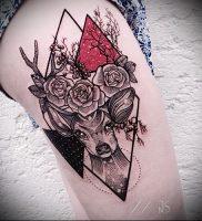 Фото тату лось — 30052017 — пример — 008 tattoo elk
