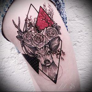 Фото тату лось - 30052017 - пример - 008 tattoo elk