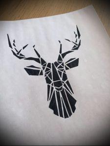 Фото тату лось - 30052017 - пример - 011 tattoo elk