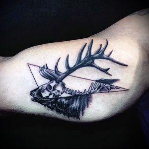 Фото тату лось - 30052017 - пример - 032 tattoo elk