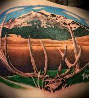 Фото тату лось — 30052017 — пример — 050 tattoo elk
