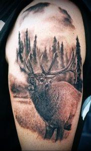 Фото тату лось - 30052017 - пример - 053 tattoo elk