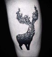 Фото тату лось — 30052017 — пример — 058 tattoo elk