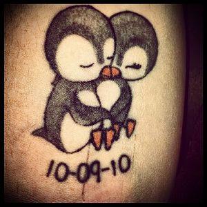 Фото тату пингвин - 05062017 - пример - 007 Tattoo penguin