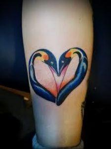 Фото тату пингвин - 05062017 - пример - 089 Tattoo penguin