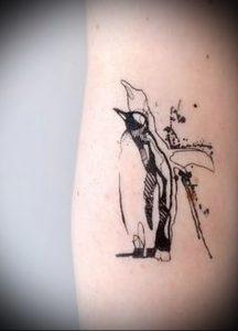 Фото тату пингвин - 05062017 - пример - 095 Tattoo penguin