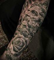 Фото тату Посейдон — 19072017 — пример — 002 Poseidon Tattoo