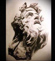 Фото тату Посейдон — 19072017 — пример — 003 Poseidon Tattoo