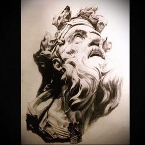 Фото тату Посейдон - 19072017 - пример - 003 Poseidon Tattoo