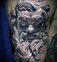 Фото тату Посейдон — 19072017 — пример — 004 Poseidon Tattoo