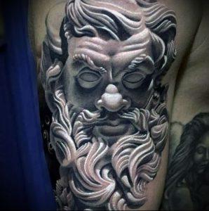 Фото тату Посейдон - 19072017 - пример - 004 Poseidon Tattoo