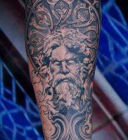 Фото тату Посейдон — 19072017 — пример — 006 Poseidon Tattoo