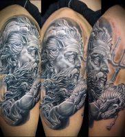 Фото тату Посейдон — 19072017 — пример — 007 Poseidon Tattoo