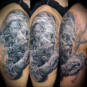 Фото тату Посейдон - 19072017 - пример - 007 Poseidon Tattoo