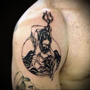 Фото тату Посейдон - 19072017 - пример - 010 Poseidon Tattoo