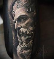 Фото тату Посейдон — 19072017 — пример — 011 Poseidon Tattoo