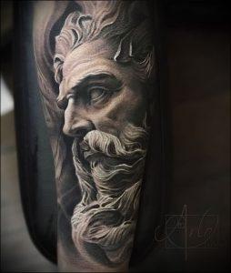 Фото тату Посейдон - 19072017 - пример - 011 Poseidon Tattoo