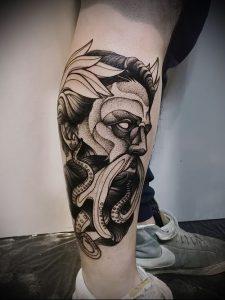 Фото тату Посейдон - 19072017 - пример - 017 Poseidon Tattoo