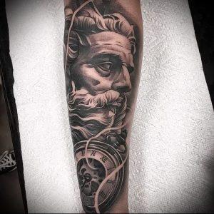 Фото тату Посейдон - 19072017 - пример - 019 Poseidon Tattoo