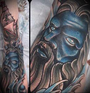 Фото тату Посейдон - 19072017 - пример - 026 Poseidon Tattoo