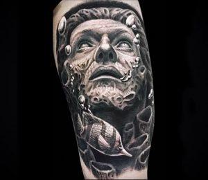 Фото тату Посейдон - 19072017 - пример - 041 Poseidon Tattoo