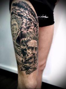 Фото тату Посейдон - 19072017 - пример - 046 Poseidon Tattoo