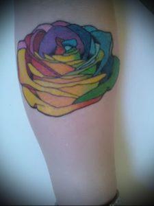 Фото тату радуга - 22072017 - пример - 009 Rainbow tattoo_tattoo-photo.ru