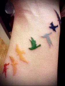 Фото тату радуга - 22072017 - пример - 012 Rainbow tattoo_tattoo-photo.ru