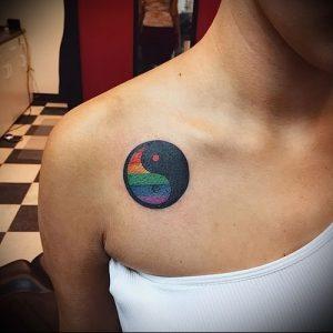 Фото тату радуга - 22072017 - пример - 030 Rainbow tattoo_tattoo-photo.ru