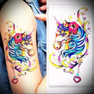 Фото тату радуга - 22072017 - пример - 043 Rainbow tattoo_tattoo-photo.ru