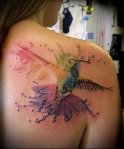 Фото тату радуга - 22072017 - пример - 076 Rainbow tattoo_tattoo-photo.ru