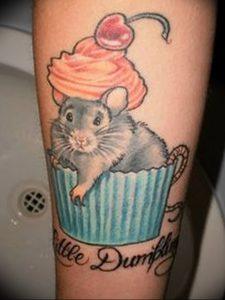 фото тату крыса от 27.07.2017 №023 - Rat tattoo_tattoo-photo.ru