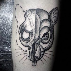 фото тату крыса от 27.07.2017 №059 - Rat tattoo_tattoo-photo.ru